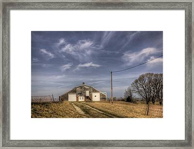North Fork Farm Framed Print