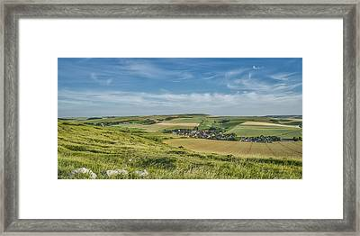 North French Scenery Framed Print