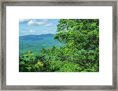 North Georgia Mountains Framed Print