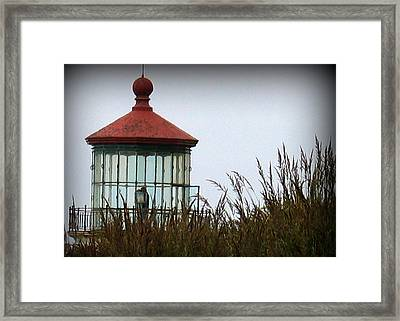 North Head Lighthouse Framed Print by Mg Blackstock