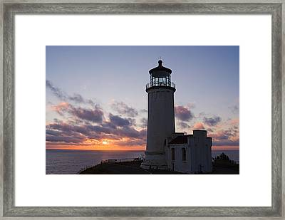 North Head Lighthouse Framed Print by Terry  Wieckert