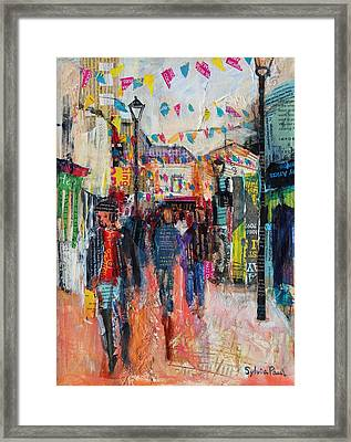 North Laines  Brighton Framed Print