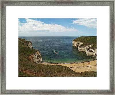 North Landing Framed Print