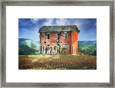 North Of Clarksville Framed Print by Marty Koch