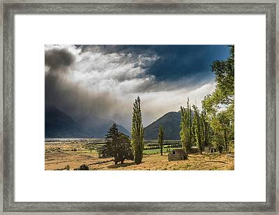 Framed Print featuring the photograph North Of Glenorchy by Gary Eason