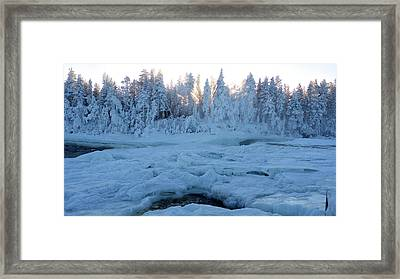 North Of Sweden Framed Print by Tamara Sushko