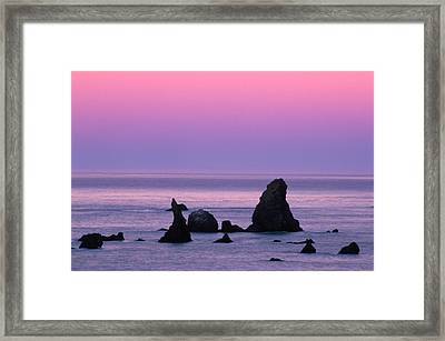 North Of The North Framed Print
