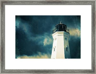 North Point Lighthouse Framed Print