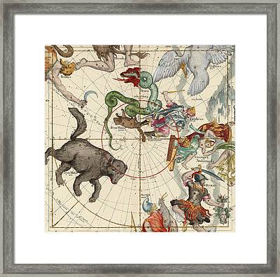 North Pole Framed Print by Ignace-Gaston Pardies