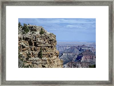 North Rim Layers Of Time Framed Print
