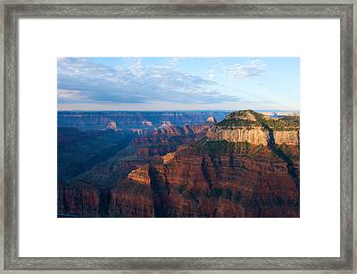 North Rim Framed Print