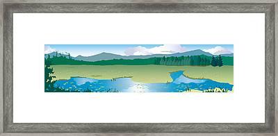 North Sandwich Framed Print by Marian Federspiel