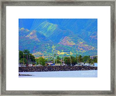 North Shore Haleiwa Hawaii  Framed Print