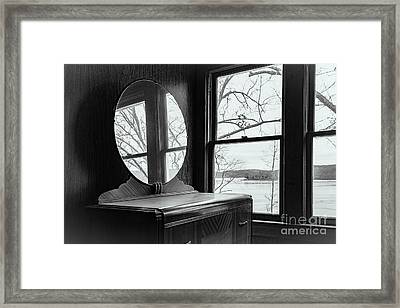 North Shore House Framed Print by Nicki McManus