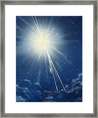 North Star Framed Print