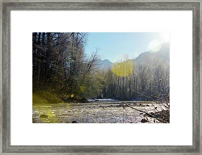North Stilly Framed Print
