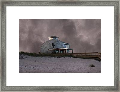 North Topsail Beach Dome Framed Print by Betsy Knapp