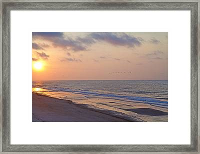 North Topsail Beach Glory Framed Print