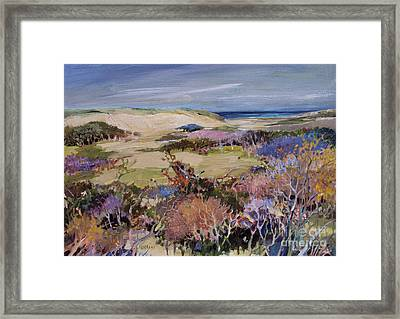 North Truro Dune Framed Print