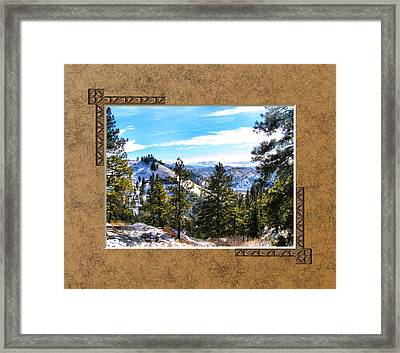 Framed Print featuring the photograph North View by Susan Kinney