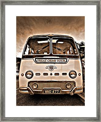 North Wales Nostalgia Framed Print