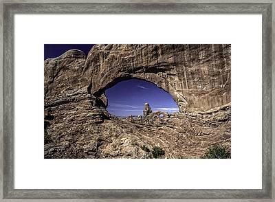 North Window, Arches Framed Print