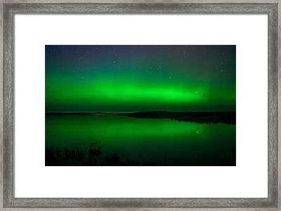 Northen Lights Framed Print by Gary McCormick