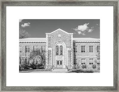 Northern Arizona University Gammage Library Framed Print by University Icons