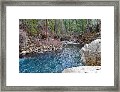 Northern California Landscape Framed Print