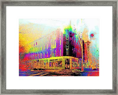 Northern Hotel Framed Print by Jeff Gibford
