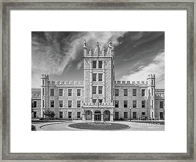 Northern Illinois University Altgeld Hall Framed Print by University Icons