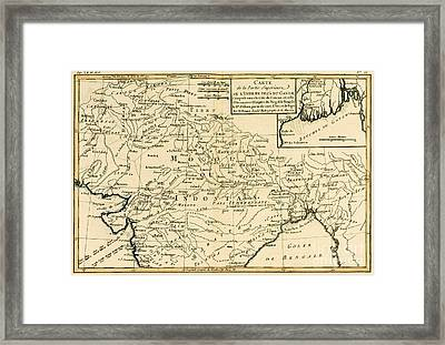 Northern India Framed Print