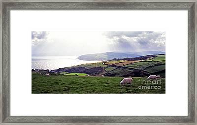 Northern Ireland Panoramic  Framed Print by Thomas R Fletcher