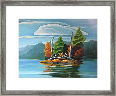 Northern Island Framed Print