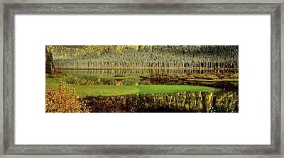 Northern Lake Framed Print by Mark Duffy