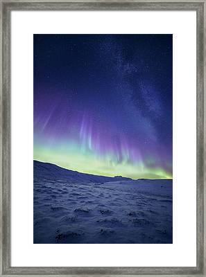 Northern Light Framed Print