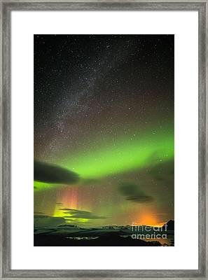 Northern Lights 8 Framed Print
