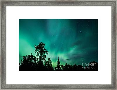 Northern Lights Tonight Framed Print
