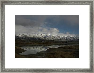 Northern Nevada Framed Print