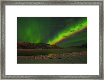 Northern Northern Lights 3 Framed Print