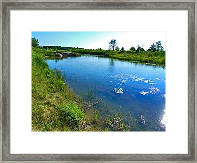 Northern Ontario 3 Framed Print