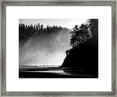 Northern Oregon Coast Framed Print