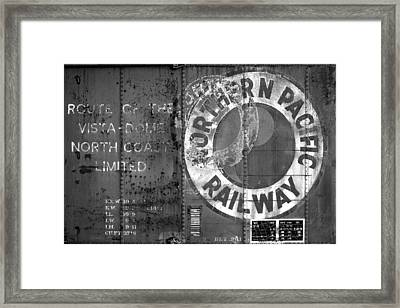 Northern Pacific Railway Past Framed Print by Todd Klassy