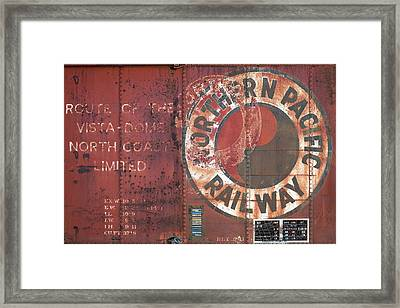 Northern Pacific Railway Framed Print