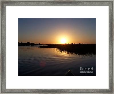 Northern Shore Framed Print