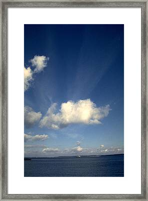 Northern Sky Framed Print by Flavia Westerwelle