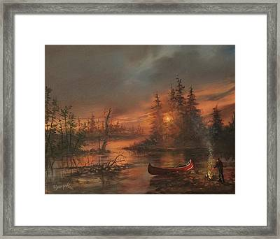 Northern Solitude Framed Print