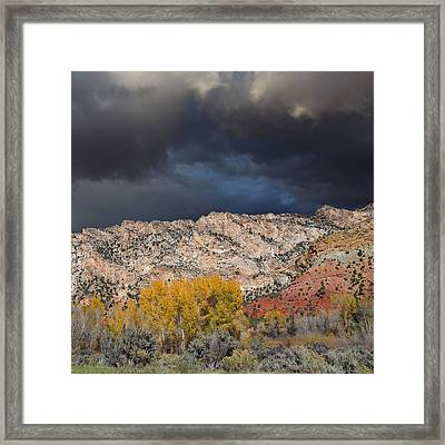 Northern Uintas Autumn Framed Print
