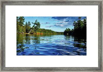 Northern Waters Framed Print