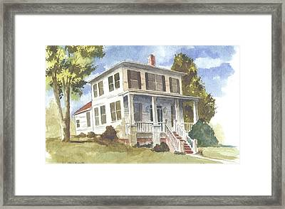 Northport House Framed Print by Jim Stovall